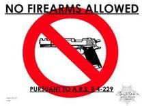 AZ no guns