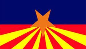 Az Flag, in distress