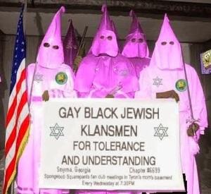 Gay black Jewish Klansmen