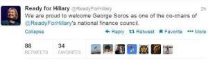 Hillary Soros